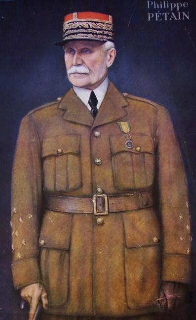 Portrait Pétain José Simont