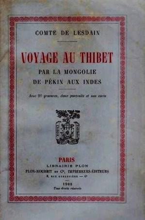 Lesdain Voyage au Thibet