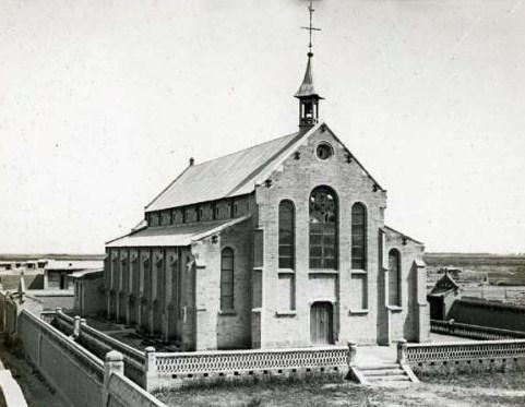 église de Chabernoor construite en 1904-1905