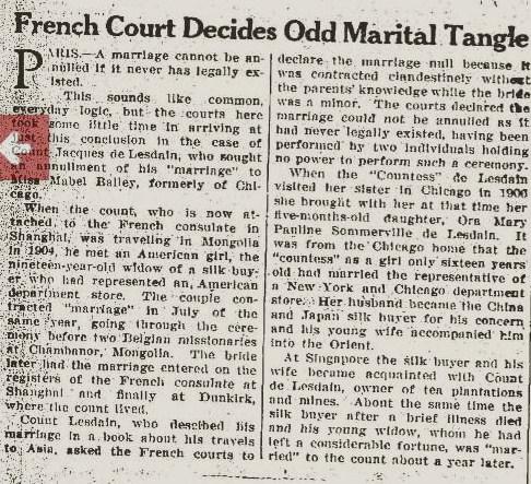 JOURNAL 1924 DE LESDAIN