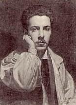 José Simont, peu après son arrivée à Paris, vers 1900