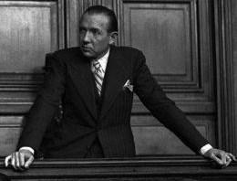 Jean Luchaire, lors de son procès