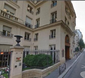 16 rue Clagrin Paris