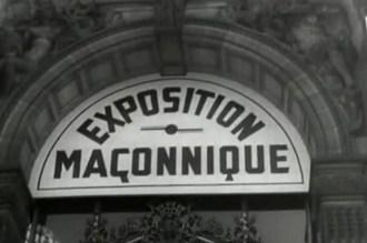 exposition maçonnique 1940