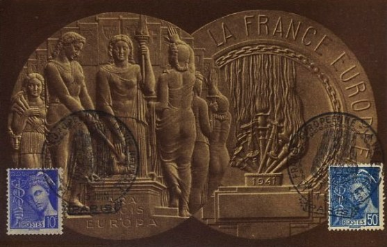 Médaille  FRANCE EUROPEENE L. BAZOR