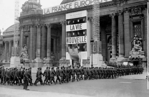 22- FRANCE EUROPEENNE mars 1942