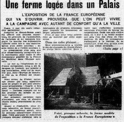 OUEST ECLAIR 6 MAI 1941