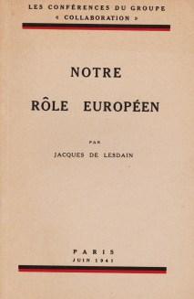 Lesdain Notre rôle européen