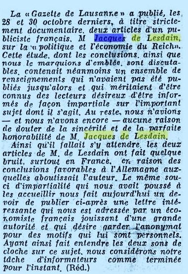 Gazette de Lausanne  (3)