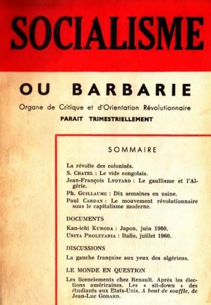 Socialisme ou barbarie n° 31 décembre février 1961