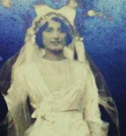 Marsa Roustan, le jour de son mariage (DR- Coll.privée Solange Normand-Bruel)