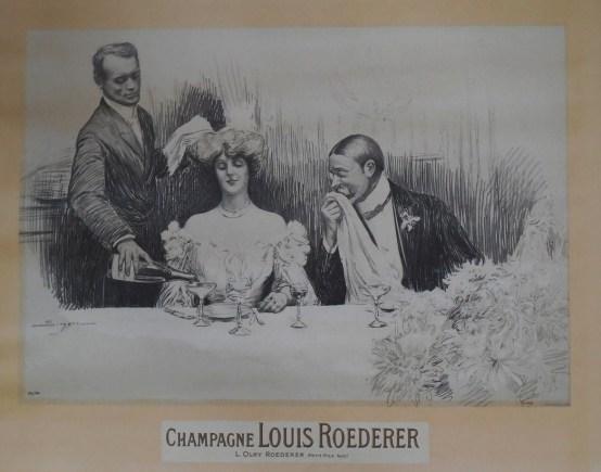 SIMONT Publicité champagne Roederer