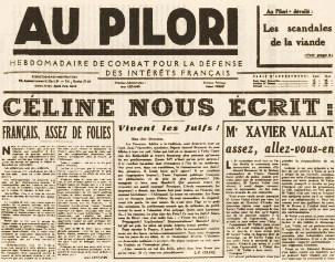 Au pilori, 2 octobre 1941
