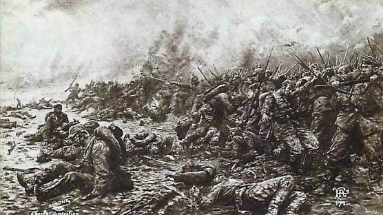 SIMONT Bataille des Flandes