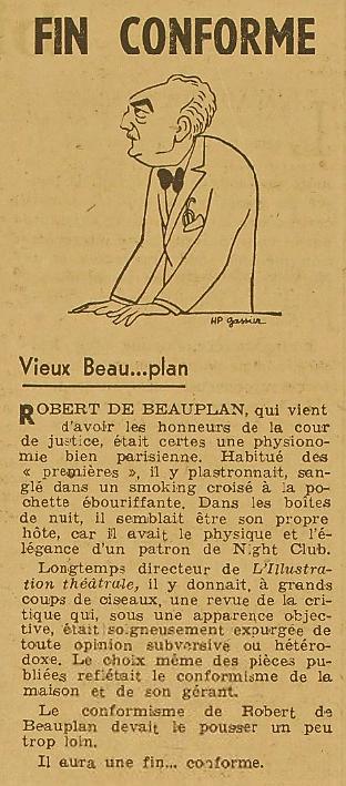 RDB Procès Lettres fraçaise 1 12 1945