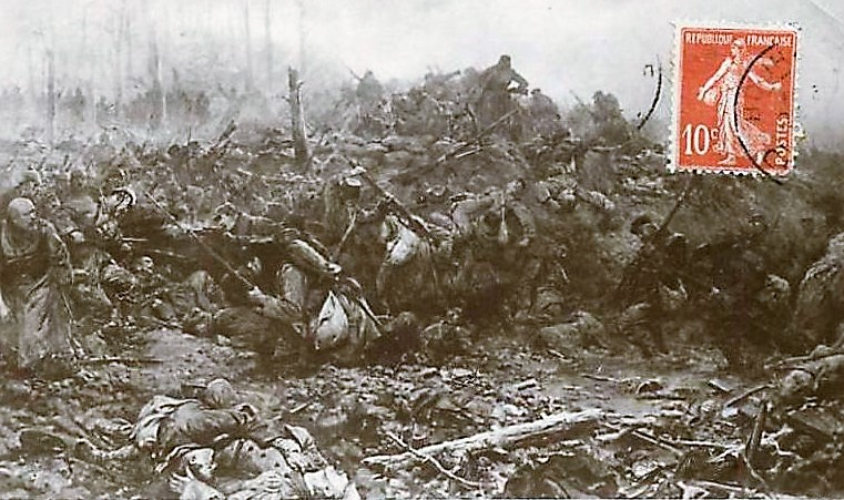 SIMONT Aux Eparges avril 1915