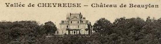 château de Beauplan vallée de Chevreuse
