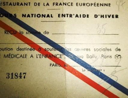 Bon d'entraide France européenne