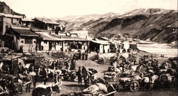 Le marché de Kalgan