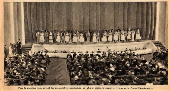 F.E. Chorale Hymne France Européenne