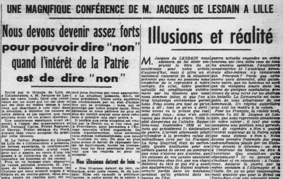 Réveil du Nord 22 juin 1943