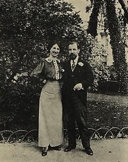 José Simont et son épouse 1912