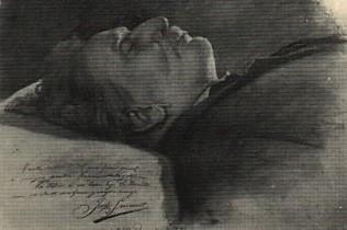 Martin Alsina sur son lit de mort