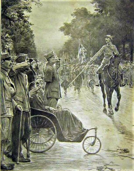 Salut aux blessés 1917 (2)