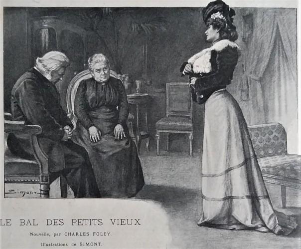 SIMONT Bal des Petits vieux 1902 Petite Illustration (2)