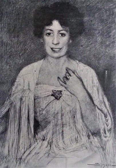 SIMONT Marcelle Tinayre Noël 1907 (2)