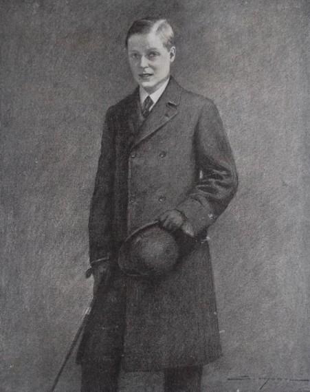 SIMONT Petit-fils d'Édouard VII 1912 (2)