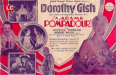 Affiche Mme Pompadour Film Marsa de Beauplan