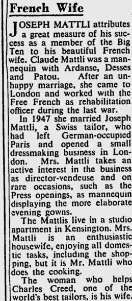 Bio Claude Beauplan Sydney Morning Herald 20 janvier 1952