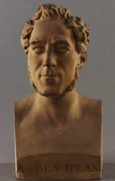 Buste Amédée J. de Beauplan (arrière grand père)