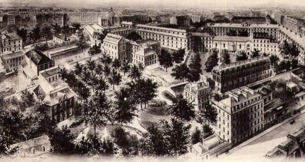 Collège Stanislas vue générale 1905