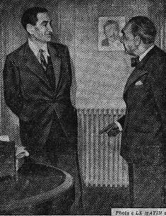 De beauplan et Henriot 15 janvier 1944 LE MATIN