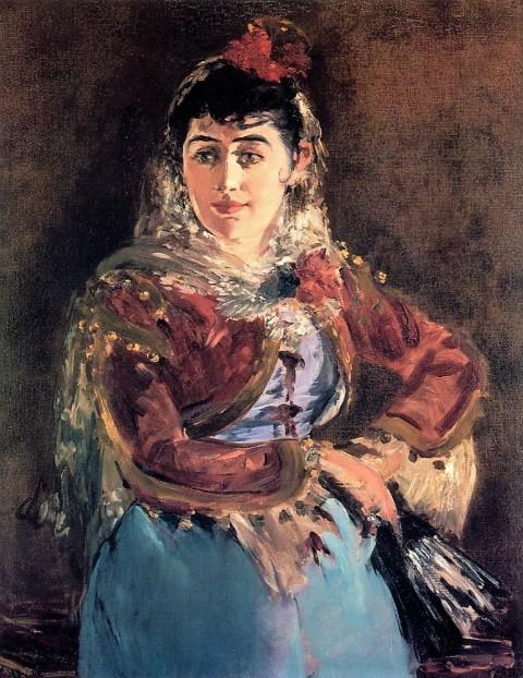 Emilie Ambre carmen Manet