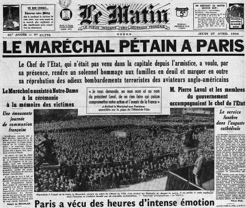 Pétain paris
