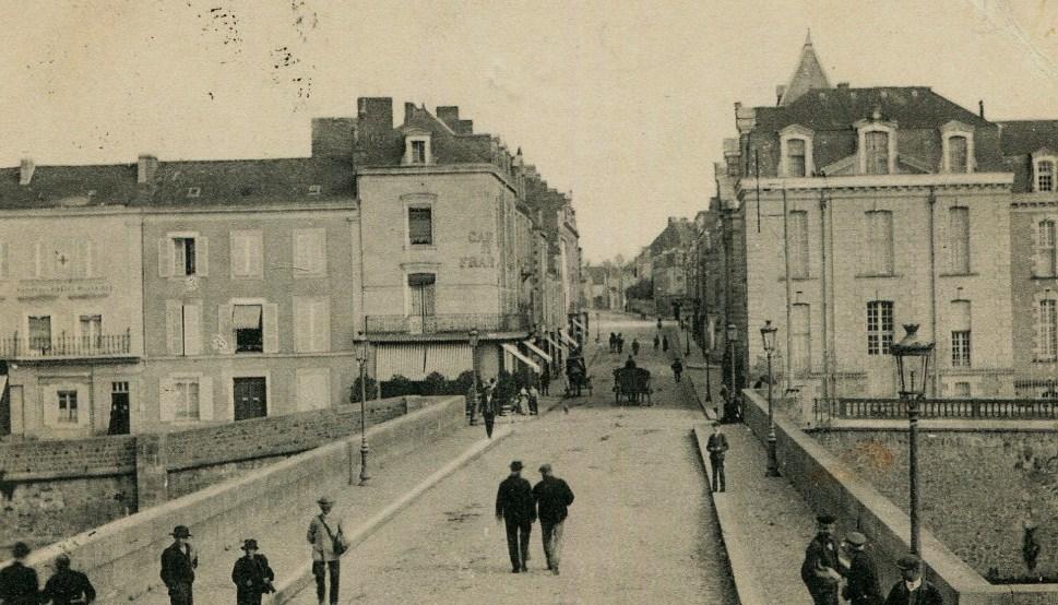 RDB Château Gontier Pont et rue Thiers