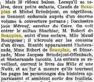 RDB DEAUVILLE 1922 Journal Le gaulois 18 août 1922