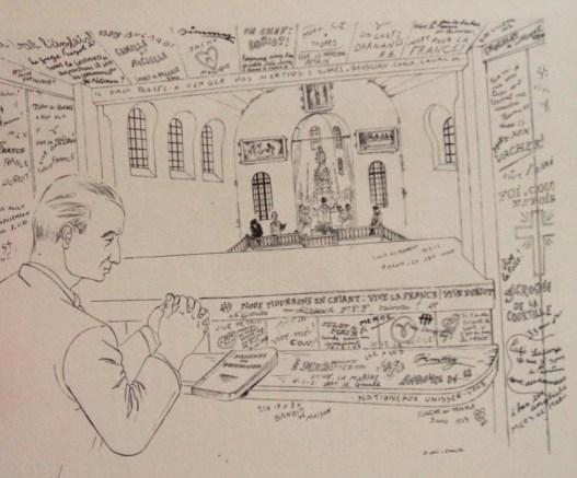 RIO Ralph Soupault Fresnes 1947 Chapelle messe